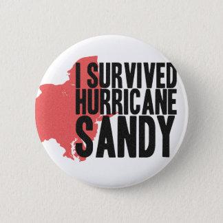 I Survived Hurricane Sandy  T-Shirt Pinback Button
