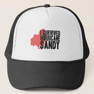 I Survived Hurricane Sandy  T-Shirt Trucker Hat