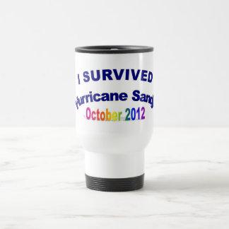 I Survived Hurricane Sandy Travel Mug