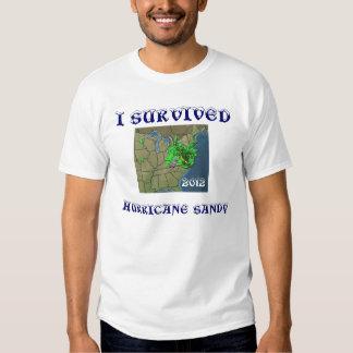 I SURVIVED HURRICANE SANDY TSHIRTS