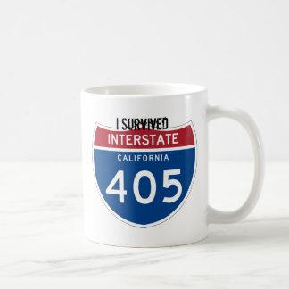 I Survived I-405 CommuterTrooper Coffee Mug