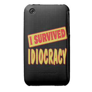 I SURVIVED IDIOCRACY iPhone 3 CASES