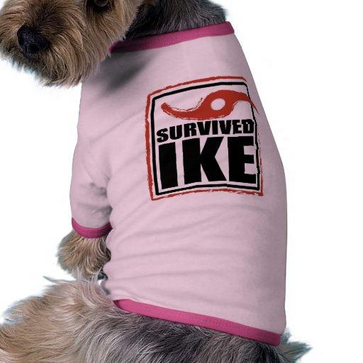 I SURVIVED IKE Dog T-shirt