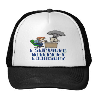 I Survived Internet Doomsday Hat
