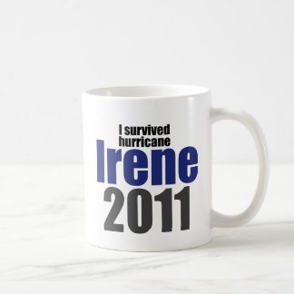 I Survived Irene Classic White Coffee Mug