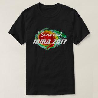 """I Survived Irma 2017"" & Hurricane Radar T-Shirt"
