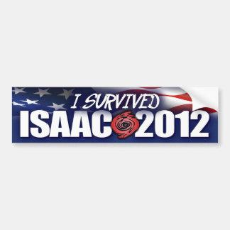 I Survived Isaac - 2012 Bumper Sticker