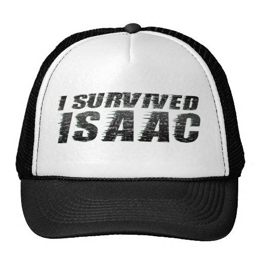 I Survived Isaac - Hurricane Isaac Trucker Hat