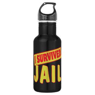 I SURVIVED JAIL WATER BOTTLE
