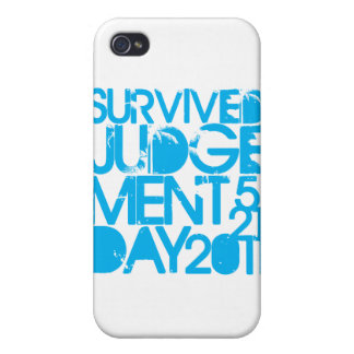 I Survived Judgment Day 2011 iPhone 4 Covers