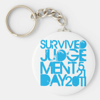 I Survived Judgment Day 2011 Keychain