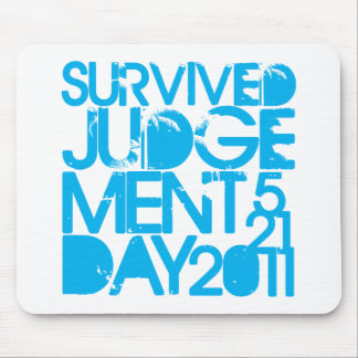I Survived Judgment Day 2011 Mouse Pad