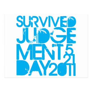 I Survived Judgment Day 2011 Postcard