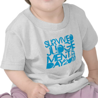 I Survived Judgment Day 2011 Shirts