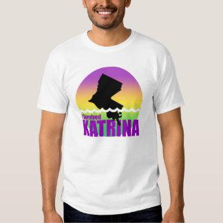 I Survived Katrina T Shirt