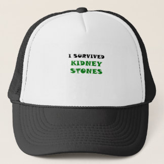 I Survived Kidney Stones Trucker Hat