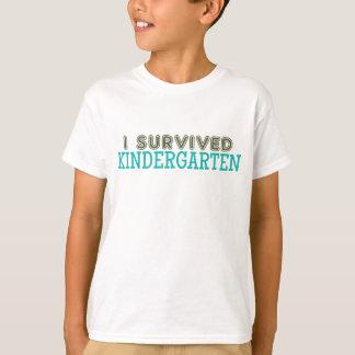 I Survived Kindergarten T-Shirt