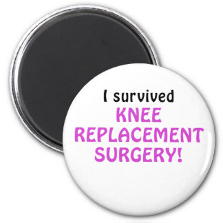 I Survived Knee Replacement Surgery 2 Inch Round Magnet