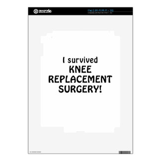 I Survived Knee Replacement Surgery Decal For The iPad 2