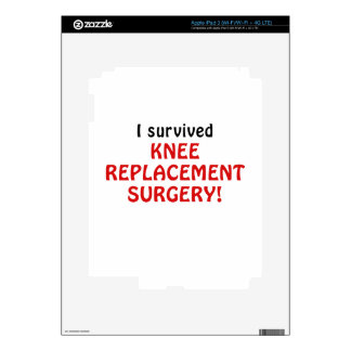 I Survived Knee Replacement Surgery Skin For iPad 3