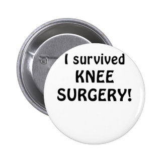 I Survived Knee Surgery Pins