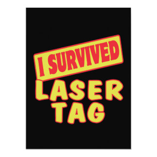 I SURVIVED LASER TAG ANNOUNCEMENT