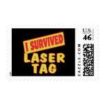 I SURVIVED LASER TAG STAMP