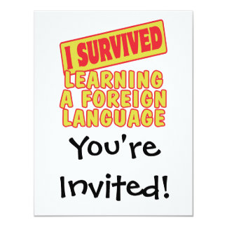 I SURVIVED LEARNING A FOREIGN LANGUAGE CARD