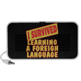 I SURVIVED LEARNING A FOREIGN LANGUAGE LAPTOP SPEAKER
