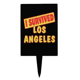 I SURVIVED LOS ANGELES LA CAKE PICK