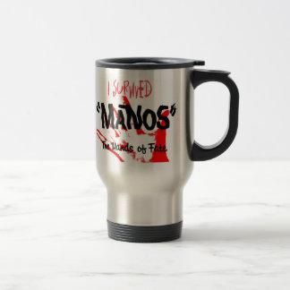 I Survived Manos the Hands of Fate Travel Mug