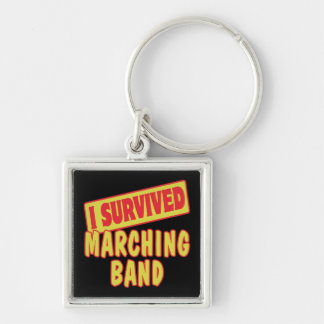 I SURVIVED MARCHING BAND KEYCHAINS