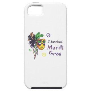 I SURVIVED MARDI GRAS iPhone 5 CASE