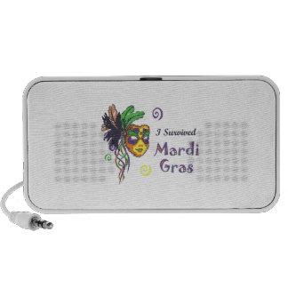 I SURVIVED MARDI GRAS SPEAKER