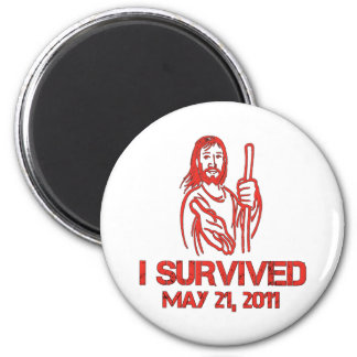 I Survived May 21, 2011 Magnet