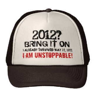 I Survived May 21, 2011 Shirt Trucker Hat
