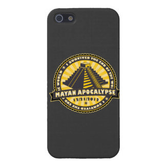 I Survived Mayan Apocalypse End of the World iPhone 5 Cases