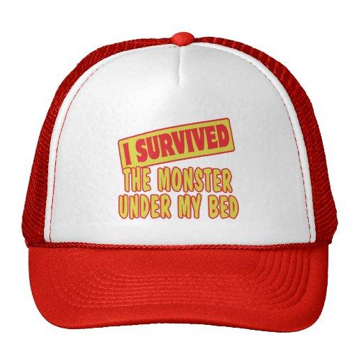 I SURVIVED MONSTER UNDER MY BED TRUCKER HAT