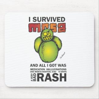 I Survived MRSA Mouse Pad