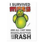 I Survived MRSA Postcards