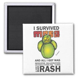 I Survived MRSA Refrigerator Magnet