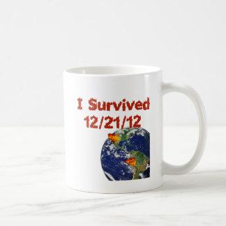 I Survived Classic White Coffee Mug