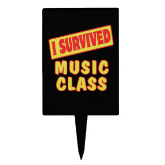 I SURVIVED MUSIC CLASS CAKE PICK
