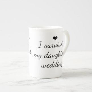 I survived my daughter's wedding Coffee Mug