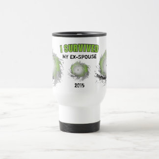I Survived My Ex-Spouse (personalizable) Travel Mug