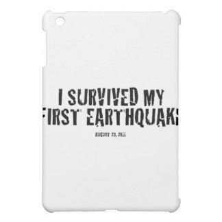 I survived my first earthquake iPad mini case