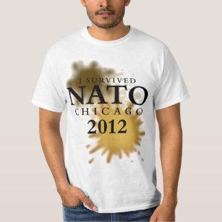 I Survived NATO Chicago 2012 T-Shirt