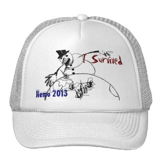 I Survived Nemo 2013 - cap Trucker Hat