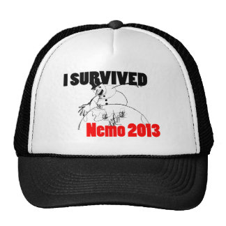 I survived Nemo 2013 Trucker Hat