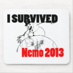 I survived Nemo 2013 Mouse Pads